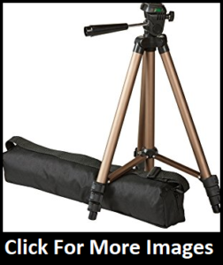 Amazon Basics Tripod reviews - Lightweight Mini Tripod Reviews