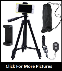 CamRah Smartphone Tripod - For Youtubers