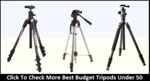 Best Budget Tripods Under $50