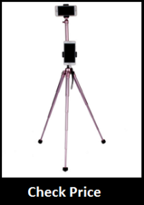 Coman E300LMT50 Red Mini Tripod