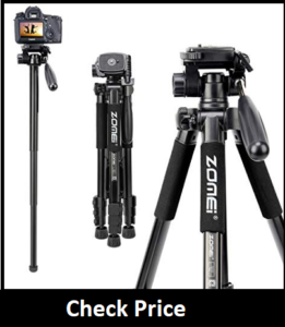 ZOMEi 75'' Tripod,Camera Tripod for Astrophotography