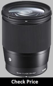 Sigma 16mm f/1.4 lens reviews