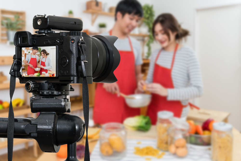 How to Set Up Camera For Cooking Videos
