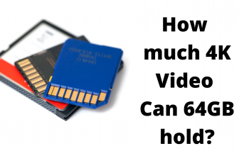 How much 4K Video Can 64GB hold?